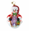 Christopher Radko Stout Snowball Ornament