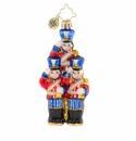 Christopher Radko Strike Up the Band Little Gem Nutcracker Ornament