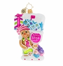 Christopher Radko Super Sweet Candy Mailbox! Ornament