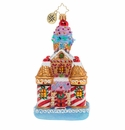 Christopher Radko Sweetest Castle Around Ornament