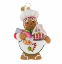 Christopher Radko Sweetest Chef Around Gingerbread Ornament