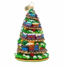 Christopher Radko Terrific Train Track Tree Ornament