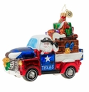 Christopher Radko Texas Treasures! Ornament