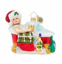Christopher Radko Time for Pampering! Ornament