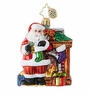 Christopher Radko Toasty Traditions Little Gem Santa Claus Ornament