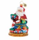 Christopher Radko Toy Time Express Ornament