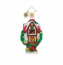 Christopher Radko Tree Limb Luxury Little Gem Treehouse Ornament