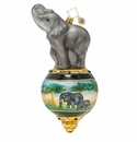 Christopher Radko Triumphant Elephant Ornament
