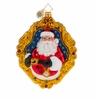 Christopher Radko Two Sides To The Story Santa Claus Ornament
