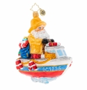 Christopher Radko We're Gonna Need A Bigger Boat Ornament