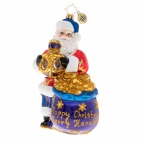 Christopher Radko We Wish You A Merry Chrismukkah Ornament