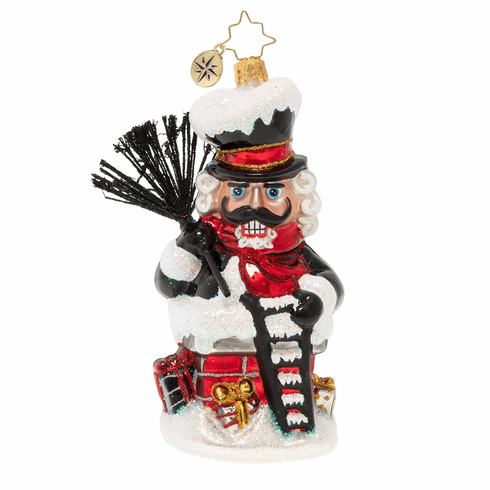 Christopher Radko Well Sooted For The Job! Nutcracker Ornament