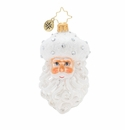 Christopher Radko Winter Frost Santa Gem Ornament