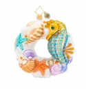 Christopher Radko Wondrous Waters Wreath Ornament