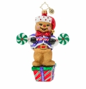 Christopher Radko Workout Ginger! Ornament