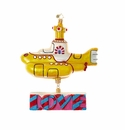 Christopher Radko Yellow Submarine with Love Ornament