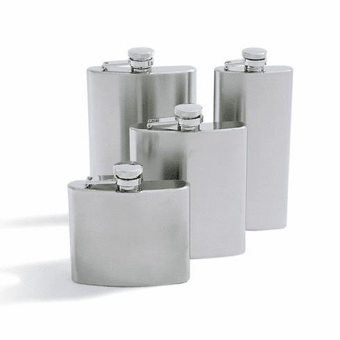 Concord 5oz Stainless Satin Finished Flask