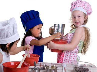 Cooking with Kids: How to Help Your Children Succeed in the Kitchen --- and in Life