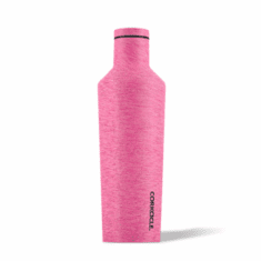Corkcicle 16 oz Water Bottle Heathered Pink