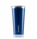 Corkcicle Glossy Riviera Blue Insulated Tumbler 16 oz