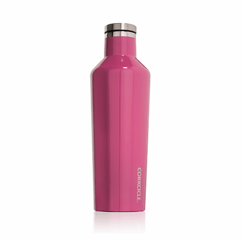 Corkcicle Pink 16 oz Water Bottle
