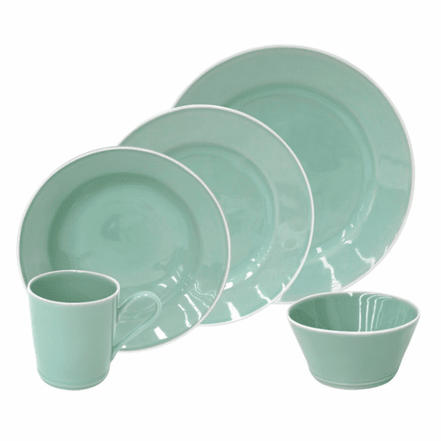 Costa Nova Astoria Mint 30 Piece Dinnerware Set