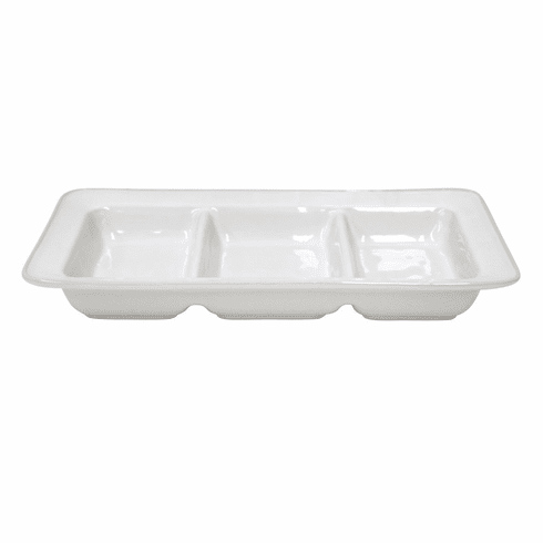 Costa Nova Astoria Triple Tray - White