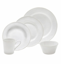 Costa Nova Astoria White 30 Piece Dinnerware Set