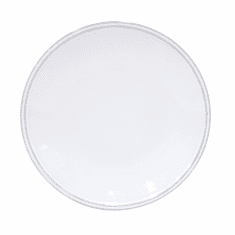 "Costa Nova Friso 10 1 Or 4"" Dinner Plate - White"