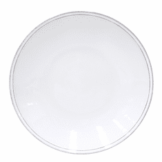 "Costa Nova Friso 11"" Serving Plate - White"