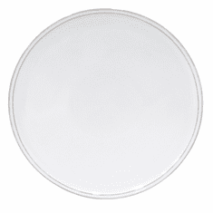 "Costa Nova Friso 13"" Serving Plate - White"