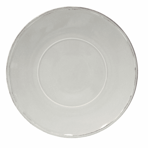 Costa Nova Friso Charger Plates Set Of 2 - Grey