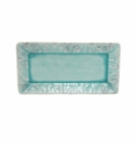 Costa Nova Madeira Blue 13.25 Rectangular Tray