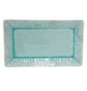 Costa Nova Madeira Blue 15.75 Rectangular Tray