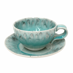 Costa Nova Madeira Tea Cups & Saucers Set Of 6 - Blue