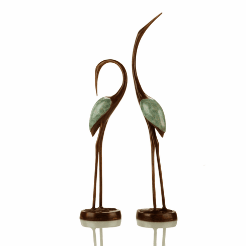 Crane Song (Pair) Sculpture by SPI Home