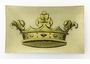 Crown Royal Rectangular Decorative Glass Plate by Working Title