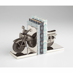 Cruiser Motorcycle Bookends by Cyan Design
