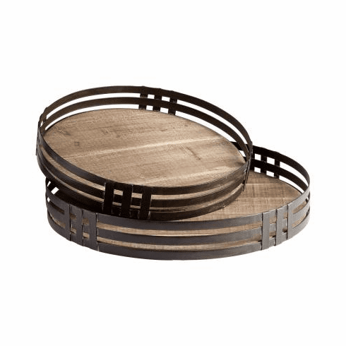 Cyan Design Banded About Trays
