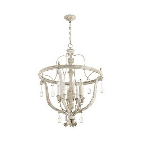 Cyan Design Baton Chandelier Weathered Grey