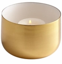 Cyan Design Cup O' Candle Brass