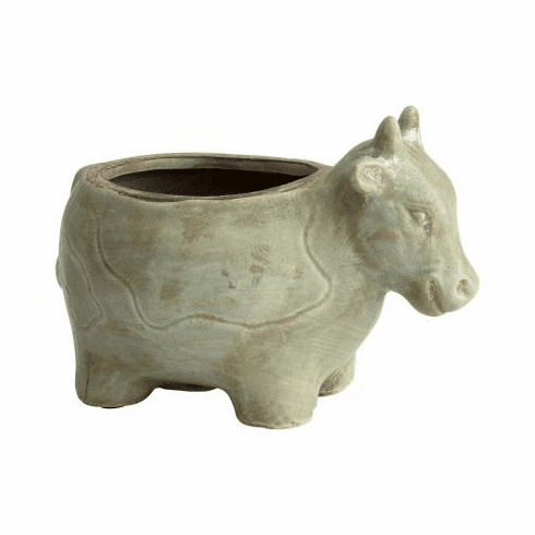 Cyan Design Friendly Cow Planter