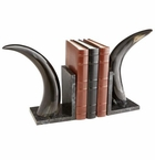 Cyan Design Horn Rim Medium Bookends