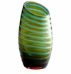 Cyan Design Large Angle Cut Chiseled Vase