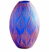 Cyan Design Large Fused Groove Vase