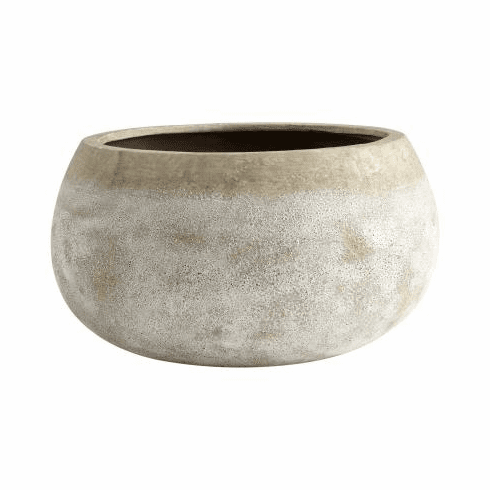 Cyan Design Large Round Stoney Planter