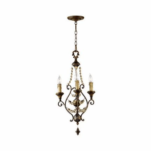 Cyan Design Meriel Three Light Chandelier