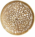 Cyan Design Small Caught In Your Web Antique Brass Colored Bowl