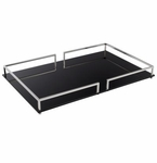 Cyan Design Small Contempo Noir Tray