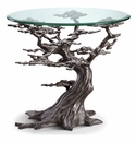 Cypress Tree End Table by SPI Home